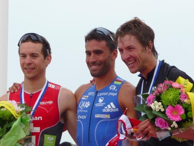 Photo du Dr Yann Gauduchon qualifié au championnat du monde de triathlon
